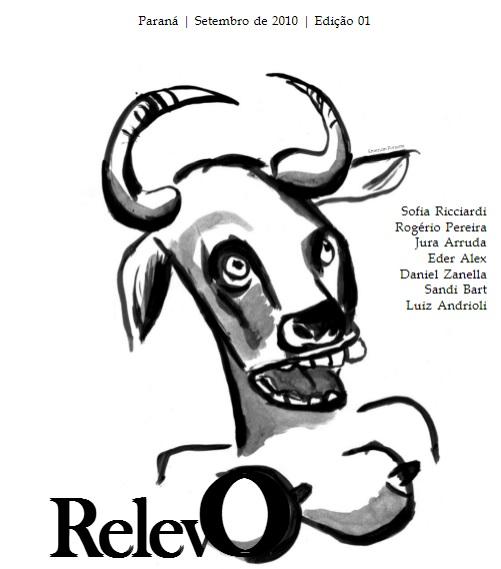 Capa do primeira edição do Relevo